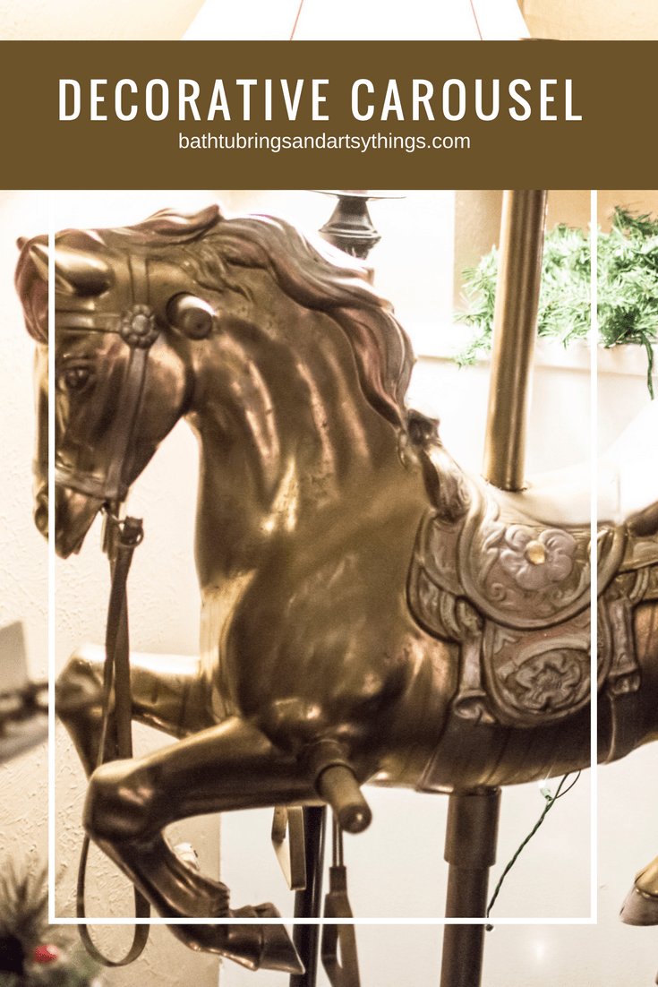 Recycle Your Horse Swing Into This Diy Decorative Carousel